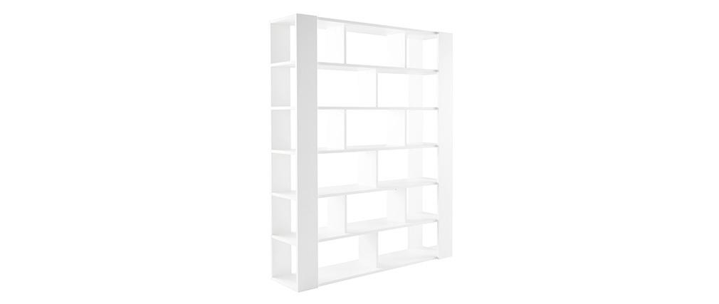 Bibliothèque design blanche MUSSO