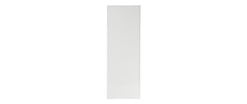 Buffet design carré 4 portes laqué blanc ERIA