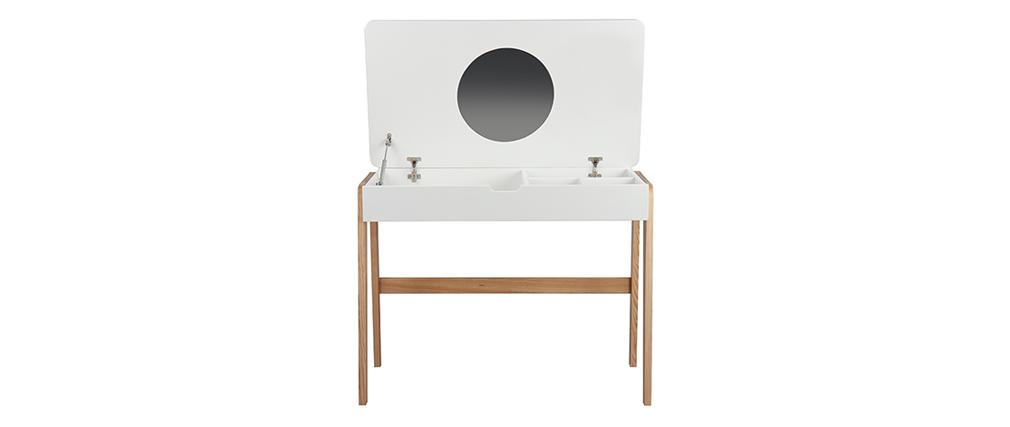 Bureau - Coiffeuse enfant scandinave avec miroir CLASS