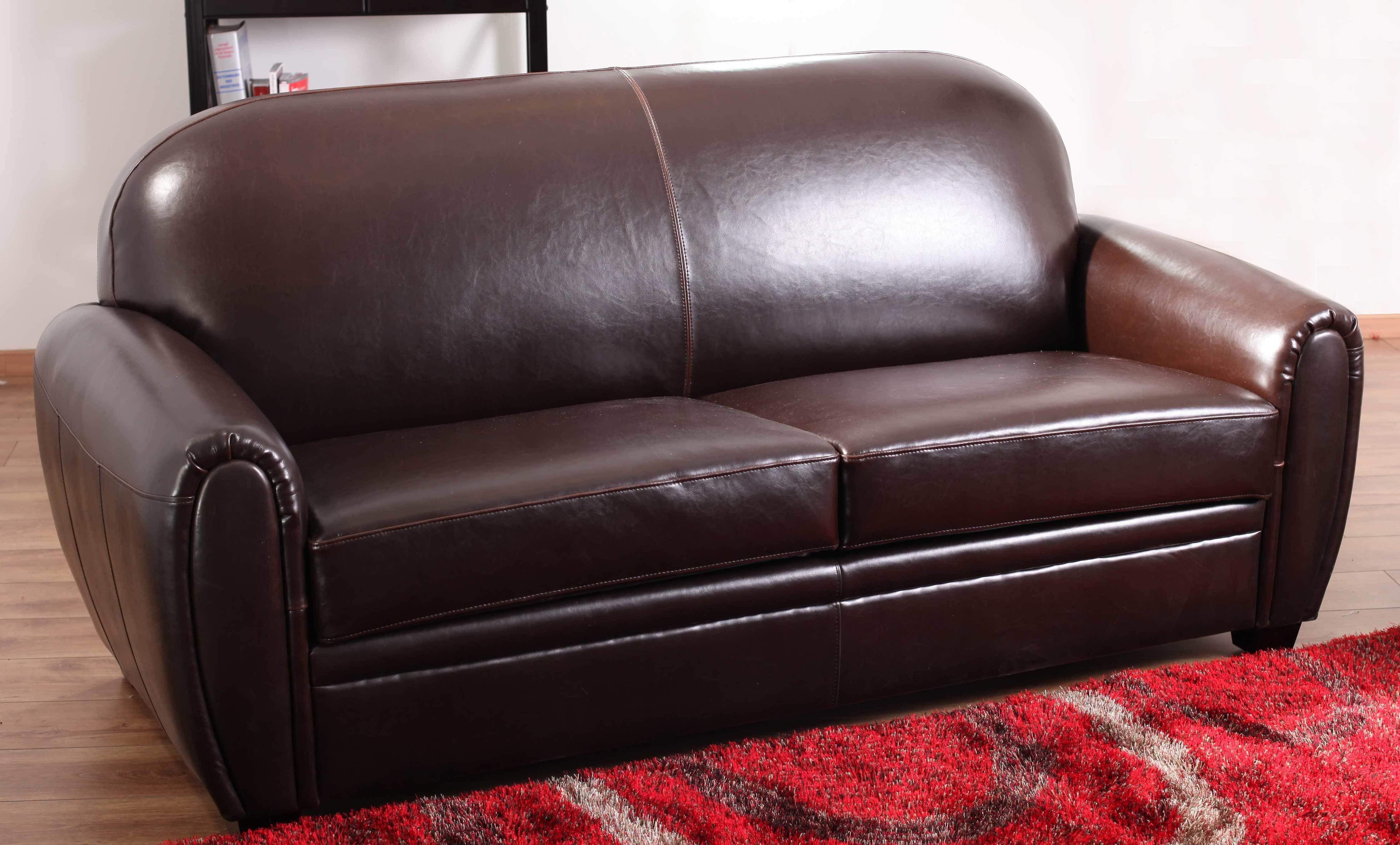 canap cuir vieilli marron free canap duangle cuir marron vieilli with canap cuir vieilli marron. Black Bedroom Furniture Sets. Home Design Ideas