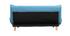 Canapé convertible scandinave bleu canard YUMI