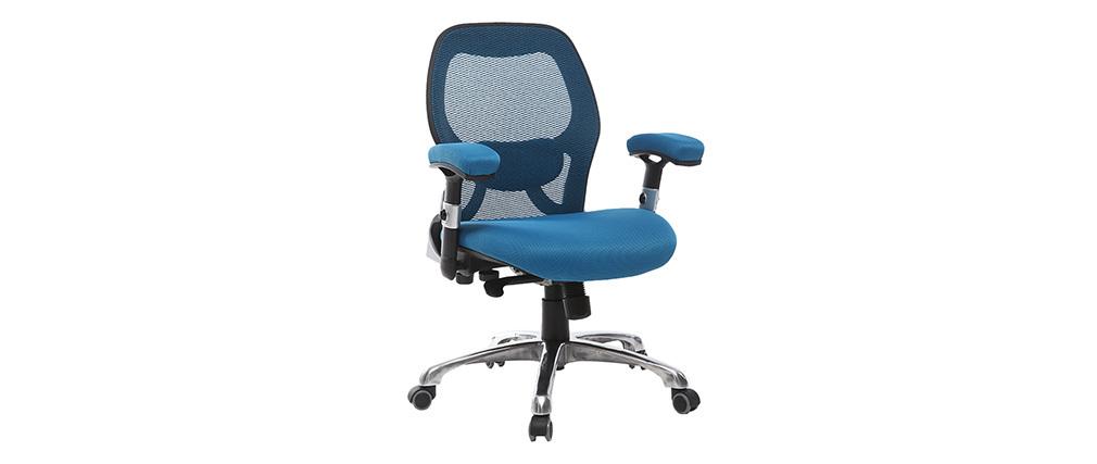 Chaise de bureau ergonomique bleu ULTIMATE V2