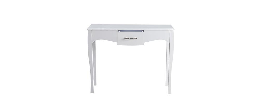 Console design baroque laquée blanc MARGOT