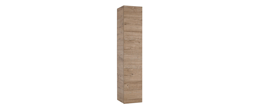Élément mural design bois miel vertical COLORED V2
