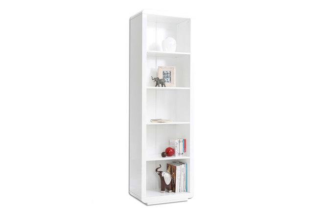 Etag re design laqu e blanche becket miliboo - Etagere blanche design ...