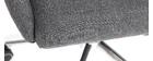 Fauteuil de bureau design gris anthracite YLA