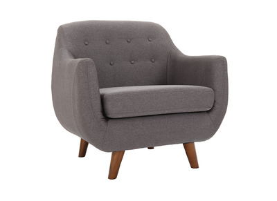 Fauteuil design gris anthracite YNOK
