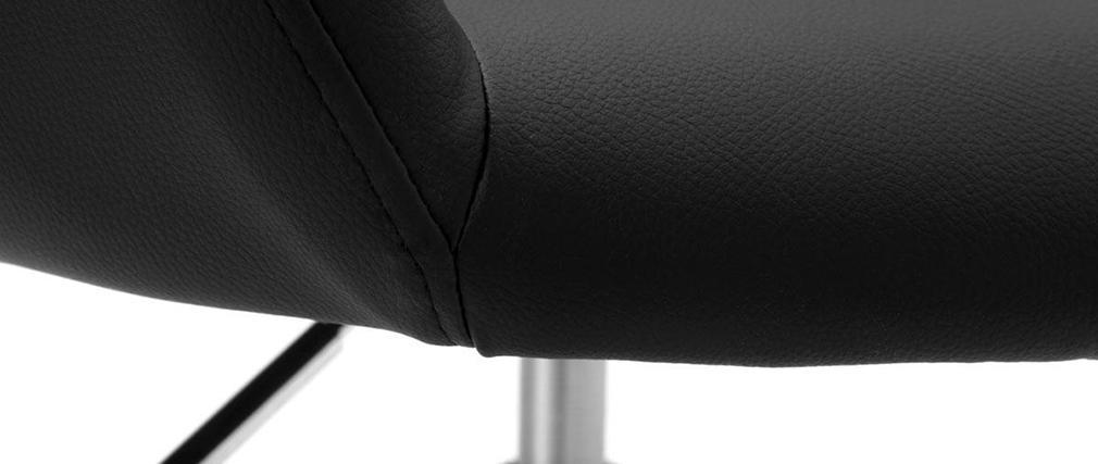 Fauteuil design noir JESSY