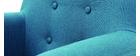 Fauteuil enfant scandinave bleu canard NORKID
