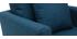 Fauteuil scandinave enfant déhoussable en tissu bleu canard BABY OSLO