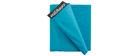 Housse de pouf géant bleue BIG MILIBAG