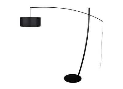 Lampadaire arc design acier noir ESCAPE