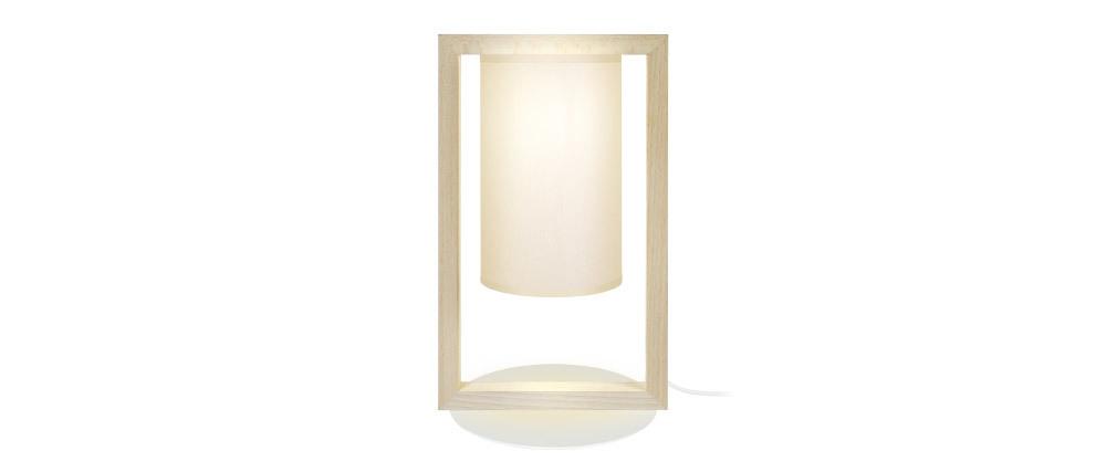 Lampe à poser design en bois HATHA