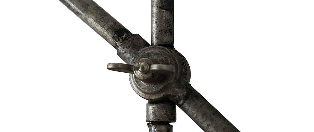 Lampe à poser industrielle en métal vieilli SHELTER