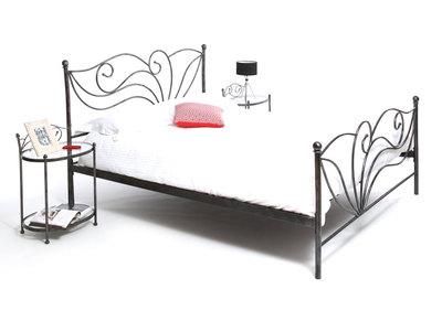 Lit 160x200 baroque noir  VENEZIA