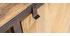 Meuble TV industriel en manguier massif L178 cm INDUSTRIA