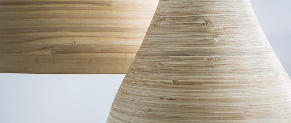 Suspension bohème bambou D30 cm SELVA