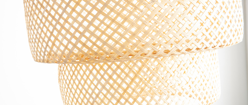 Suspension bohème en bambou WILD