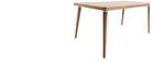 Table à manger design en chêne clair L160 cm TOTEM