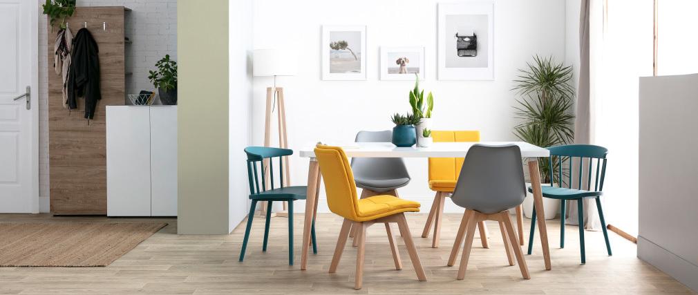 Table à manger design scandinave L160 TOTEM
