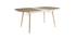 Table à manger extensible en bois clair L150-180 cm SHELDON