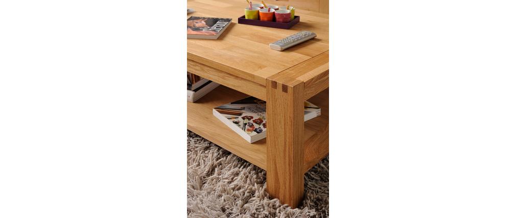 table basse design chene massif huile boscus. Black Bedroom Furniture Sets. Home Design Ideas