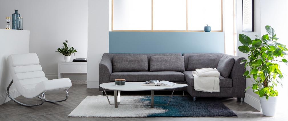 Table basse design gris MILLA
