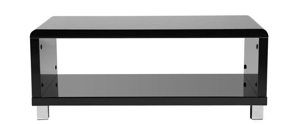 Table basse design laquée noire ROXY
