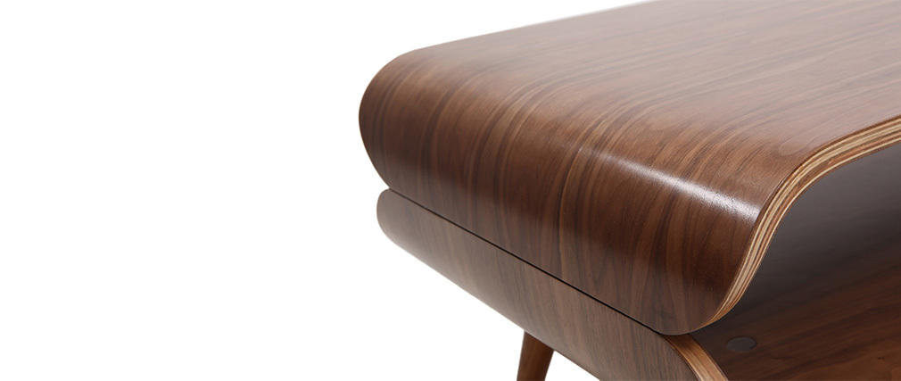 Table basse design noyer TAKLA