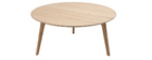 Table basse ronde design ORKAD