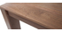 Table console extensible design noyer CALEB