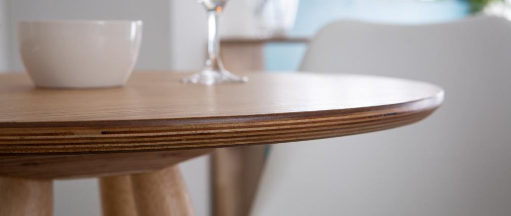 Table de bar scandinave bois NORDECO