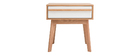 Table de chevet scandinave HELIA