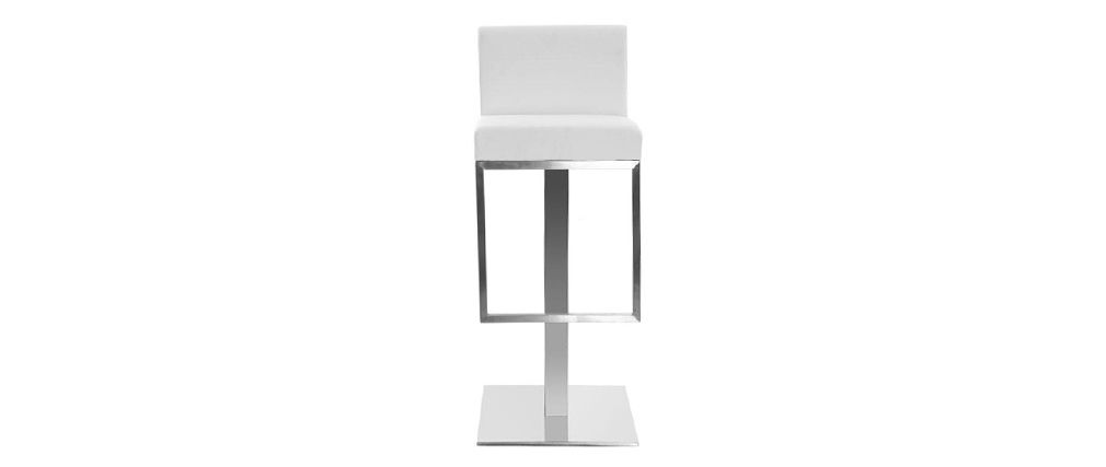 Tabouret de bar design blanc OMEGA