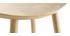 Tabouret de bar design bois clair H65 cm DEMORY