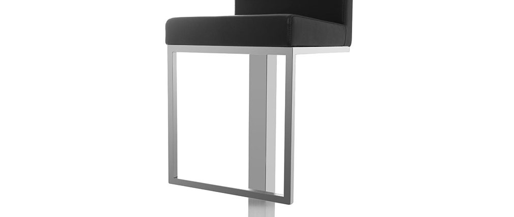 Tabouret de bar design noir OMEGA