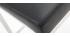 Tabourets de bar design métal et noir 66 cm (lot de 2) EPSILON