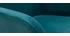 Tabourets de bar en velours bleu pétrole H65 cm (lot de 2) AMIKA