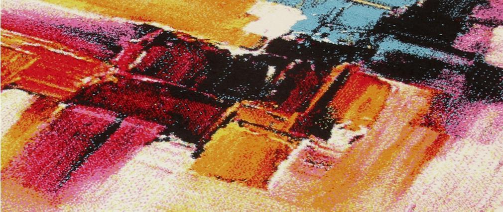Tapis à motifs multicolore 160 x 230 cm GOUACHE