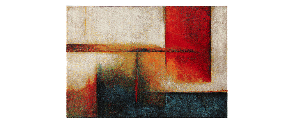 Tapis multicolore 160 x 230 cm ABSTRAIT